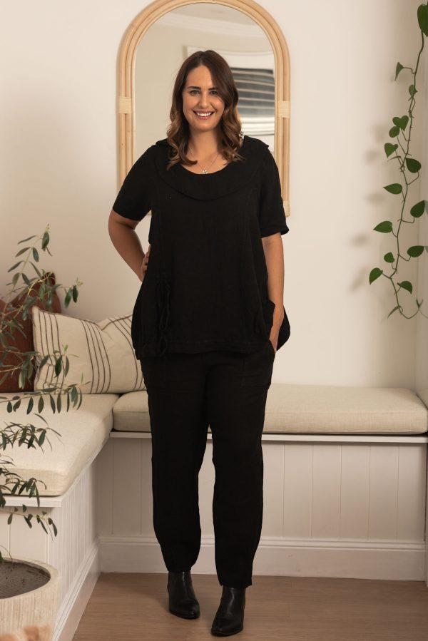 100% Italian Linen Clothing